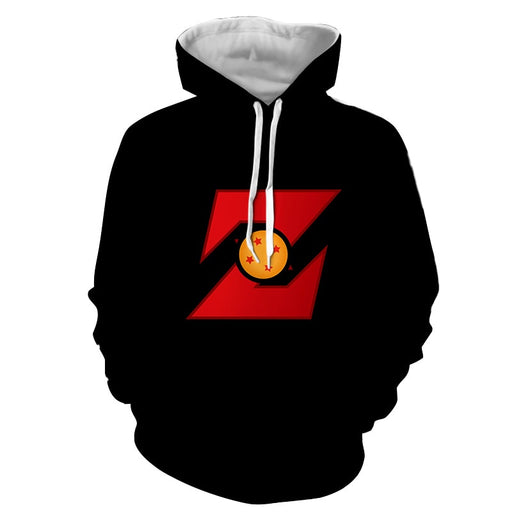Dragon Ball Z Logo Four Star Dragon Ball Cool Design Hoodie