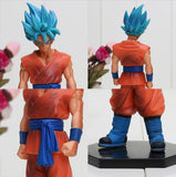 Dragon Ball Z Resurrection F Super Saiyan Blue Son Goku Action Figure 7' 18cm - Saiyan Stuff