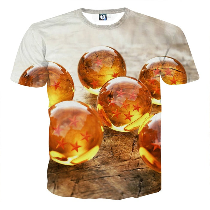 Dragon Ball Z Shenron Dope 7 Stars Crystal Balls Set T-Shirt