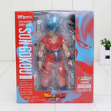 Dragon Ball Z Son Goku Super Saiyan Blue Resurrection F PVC Action Figure 16cm - Saiyan Stuff - 7