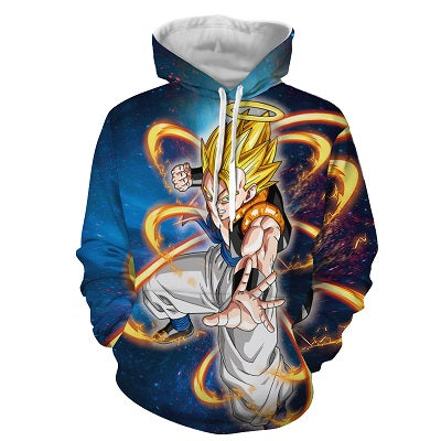 Dragon Ball Z Super Gogeta In Super Saiyan 1 Form Hoodie
