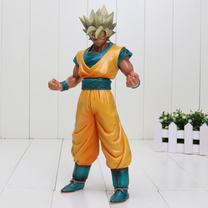 Dragon Ball Z Super Saiyan SSJ2 Son Goku Tan Skin Tone PVC Action Figure - Saiyan Stuff - 1