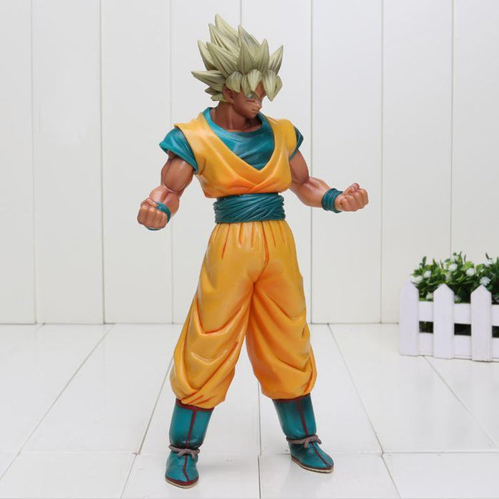 Dragon Ball Z Super Saiyan SSJ2 Son Goku Tan Skin Tone PVC Action Figure - Saiyan Stuff - 2