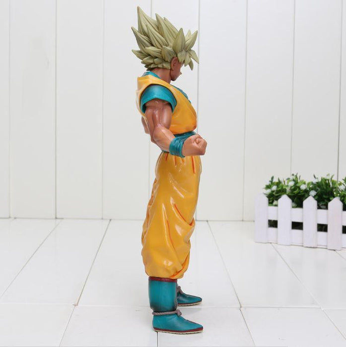 Dragon Ball Z Super Saiyan SSJ2 Son Goku Tan Skin Tone PVC Action Figure - Saiyan Stuff - 3