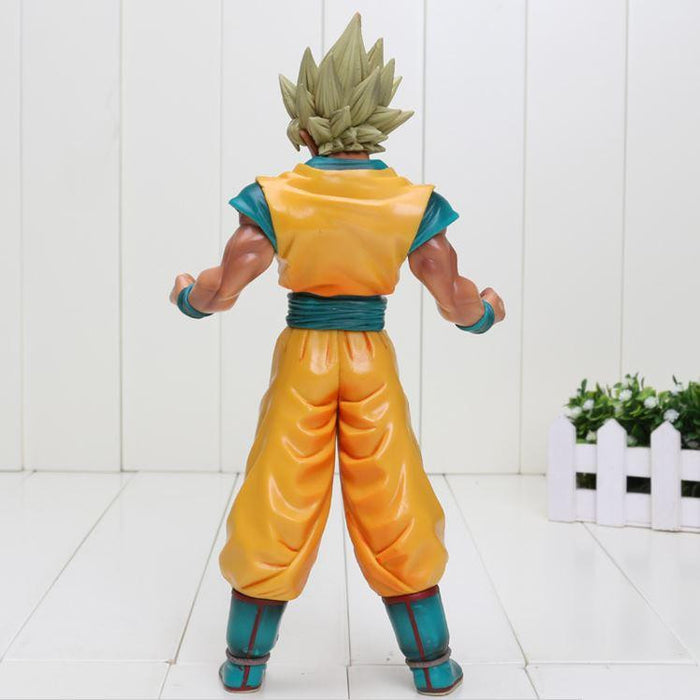 Dragon Ball Z Super Saiyan SSJ2 Son Goku Tan Skin Tone PVC Action Figure - Saiyan Stuff - 4