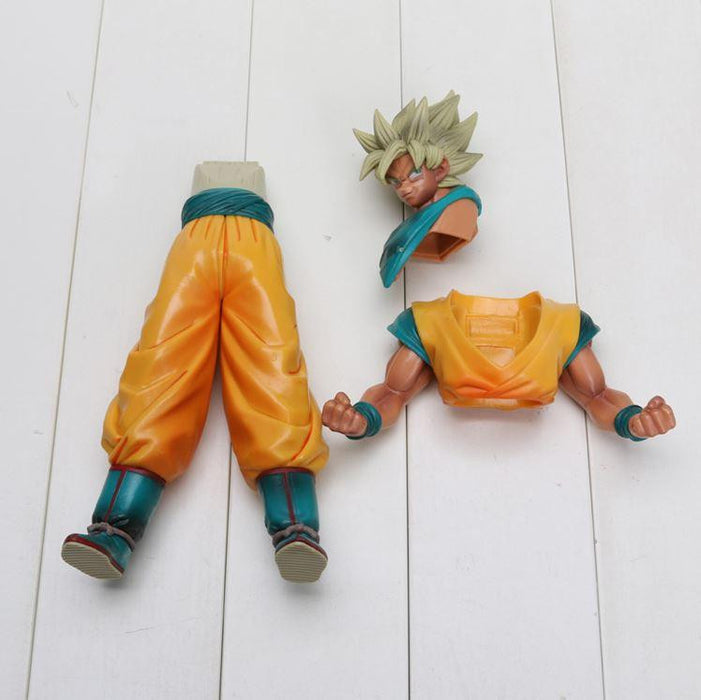 Dragon Ball Z Super Saiyan SSJ2 Son Goku Tan Skin Tone PVC Action Figure - Saiyan Stuff
