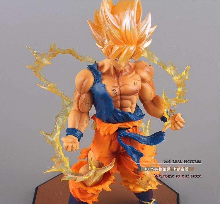 Dragon Ball Z Super Saiyan Son Goku Battle Version Action Figure 6.8' - Saiyan Stuff - 1