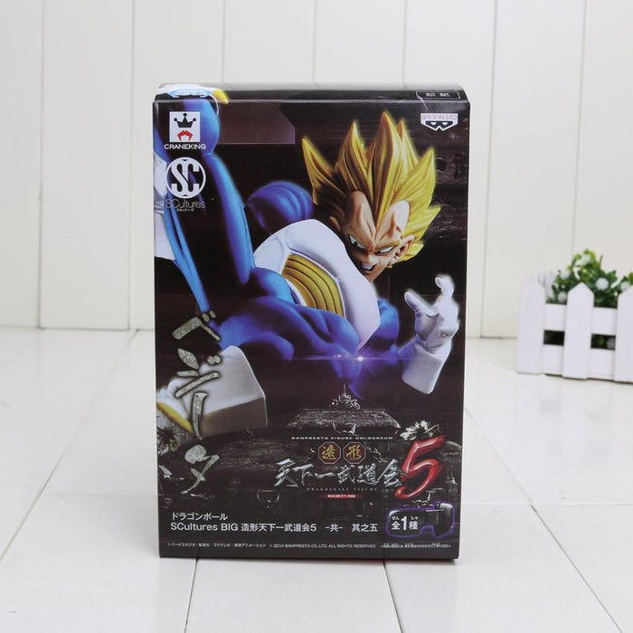 Dragon Ball Z Vegeta Super Saiyan Spirit Breaking Canon Action Figure 14cm - Saiyan Stuff - 7