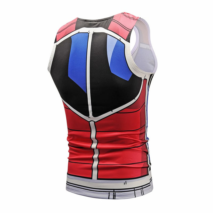 Dragon Ball Z Zorn Saiyan Armor Dope Compression Tank Top