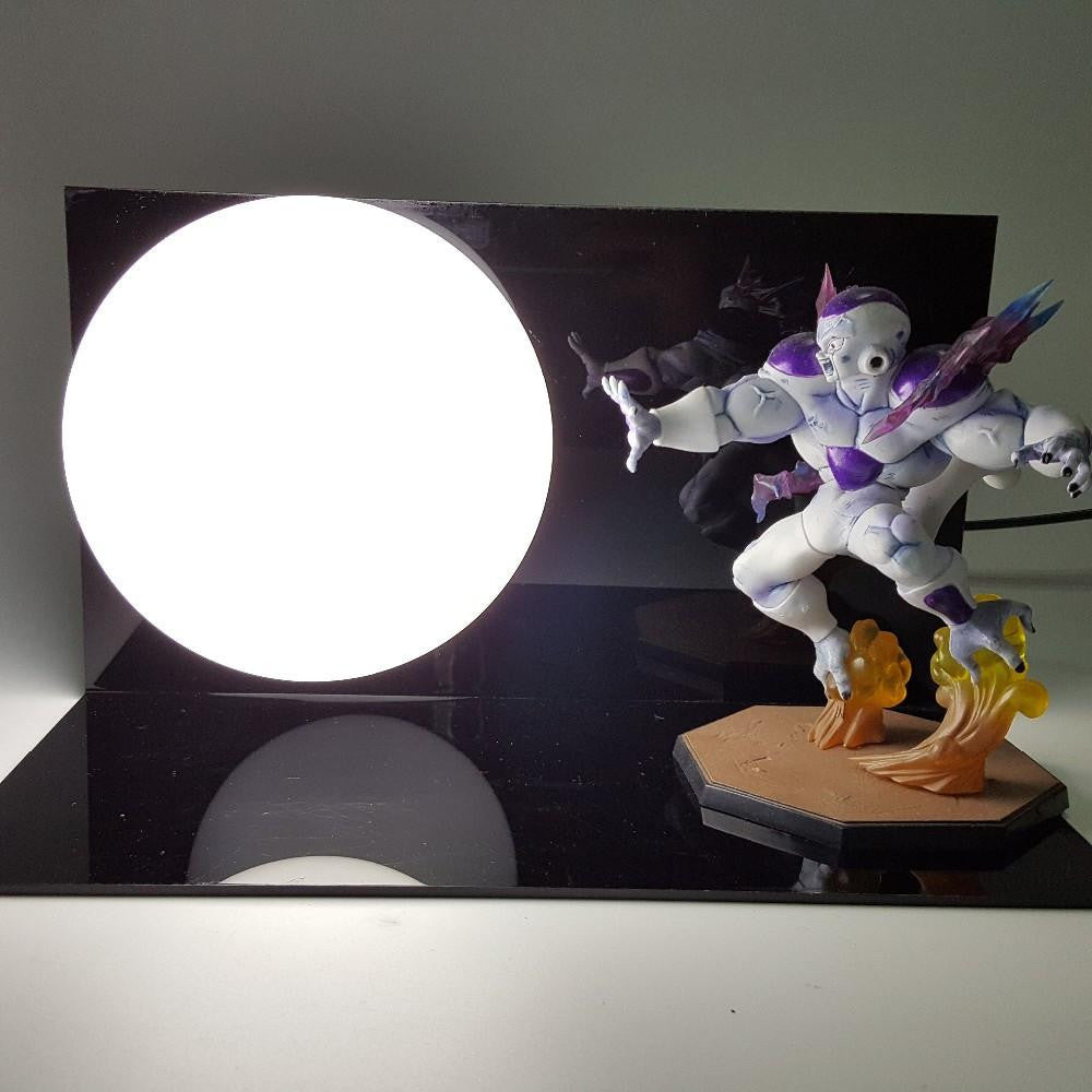 Emperor of the Universe Frieza Death Cannon Kamehameha DIY Lamp - Saiyan Stuff