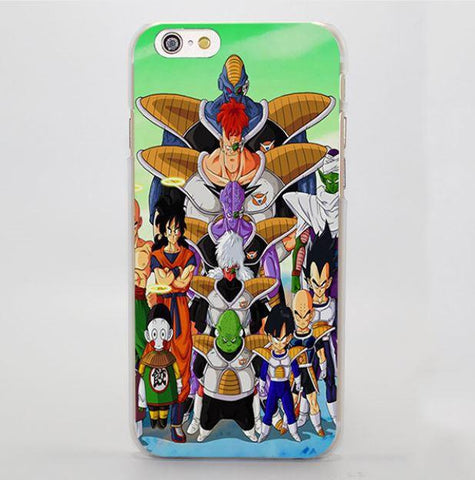 Ginyu Special Forces Dragon Ball Z Heroes iPhone 5 6 7 Plus Case