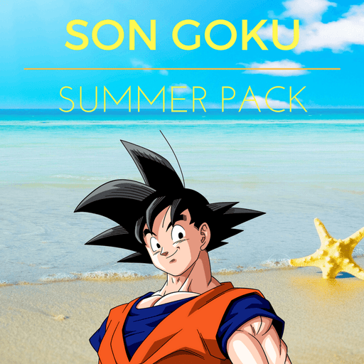 Dragon Ball Goku Super Saiyan Awesome Collection Set Summer Pack