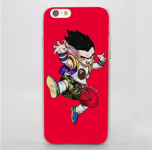 Gotenks Hip Hop Stylish Streetwear Cool Red iPhone 5 6 7 Plus Case
