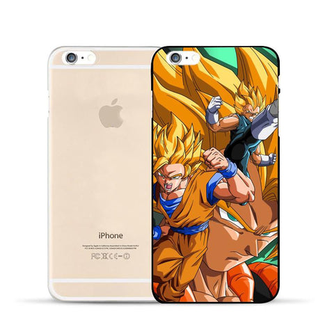 DBZ Goku Vegeta Fusion Gogeta Super Saiyan Warrior Vibrant Hard PC iPhone 5 6 7 s Plus Case