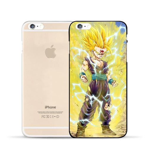 Dragon Ball Gohan Kid Super Saiyan Power Up Aura Fan Art Design Hard PC iPhone 5 6 7 s Plus Case