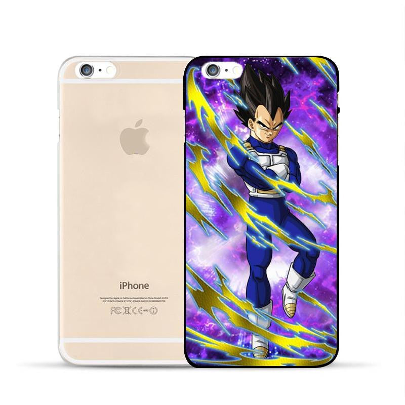 Dragon Ball Vegeta Saiyan Prince Super Warrior Pride Hard PC iPhone 5 6 7 s Plus Case