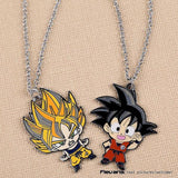 Kid Goku Super Saiyan Cute Metal Pendant Necklace - Saiyan Stuff