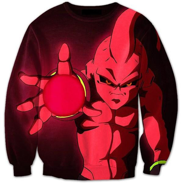 Evil Kid Buu Ultimate Cannon Energy Sphere Attack 3D Sweatshirt u2014 Saiyan Stuff  sc 1 st  Saiyan Stuff & Evil Kid Buu Ultimate Cannon Energy Sphere Attack 3D Sweatshirt ...