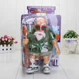 Master Roshi Camo Camouflage Military Shirt Turtle Shell Action Figure