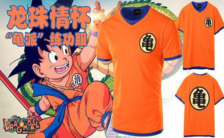 Master Roshi Pattern Dragon Ball Z Cosplay Men T-Shirt - Saiyan Stuff