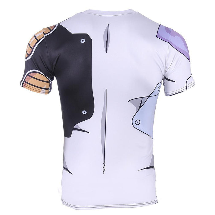 Mecha Frieza Cyborg Form Cosmic Suit Armor 3D Workout T-shirt