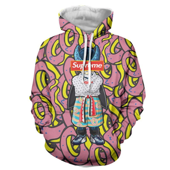 Modern Art Supreme Villain Perfect Cell Streetwear Hoodie