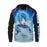 Dragon Ball Z Super Saiyan Vegetta Powerful Blue Hoodie