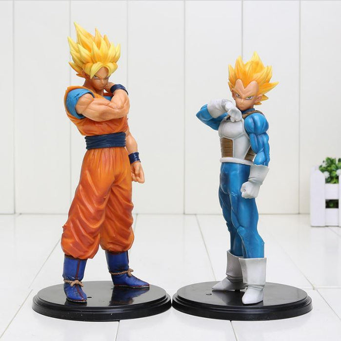 Resolution Of Soldiers ROS Super Saiyan Vegeta & Goku DBZ Figure - Saiyan Stuff - 1