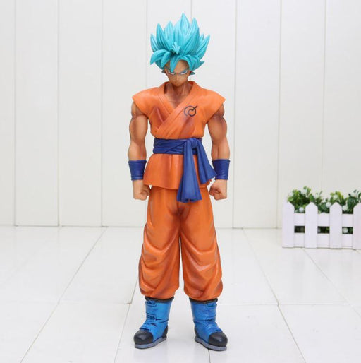 Resurrection F Son Goku Super Saiyan Blue SSGSS Action Figure 25cm - Saiyan Stuff - 1