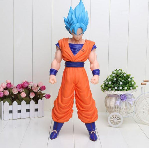 Resurrection F Super Saiyan Blue Goku Action Figure 42cm - Saiyan Stuff