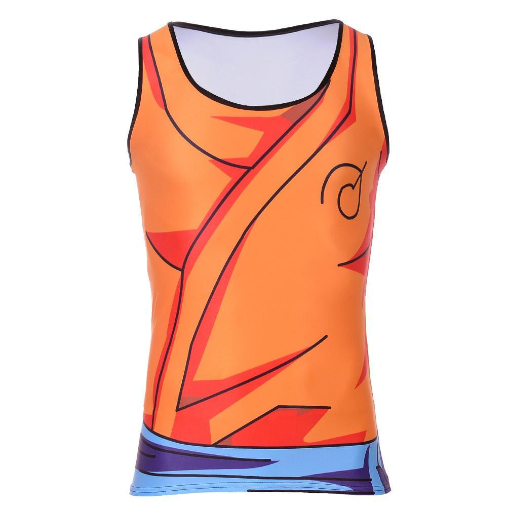 Custom Sports Bras >> Resurrection F Whis Symbol Goku Gi Outfit 3D Tank Top ...