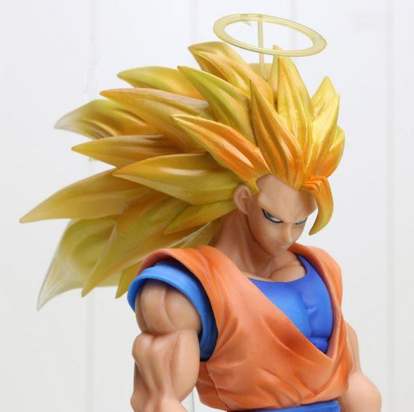 "SSG3 Goku Super Saiyan 3 PVC Collectible Action Figure 12"" 30cm - Saiyan Stuff"