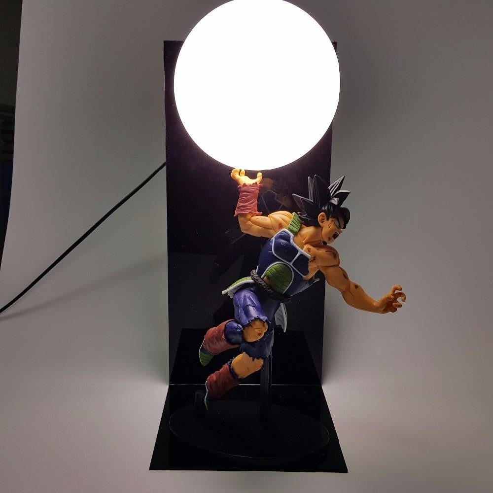 Bardock Saiyan Warrior Final Spirit Cannon Genki Dama DIY Lamp - Saiyan Stuff - 1