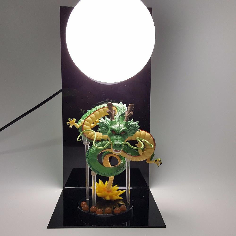 Shenron Shenlong Dragon with the Moon Display DIY Night Lamp - Saiyan Stuff - 1