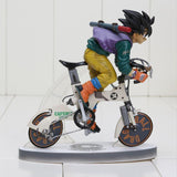 Son Goku Kakarot Riding Bicycle Bike Nunchuks Dragon Ball Figure - Saiyan Stuff - 1