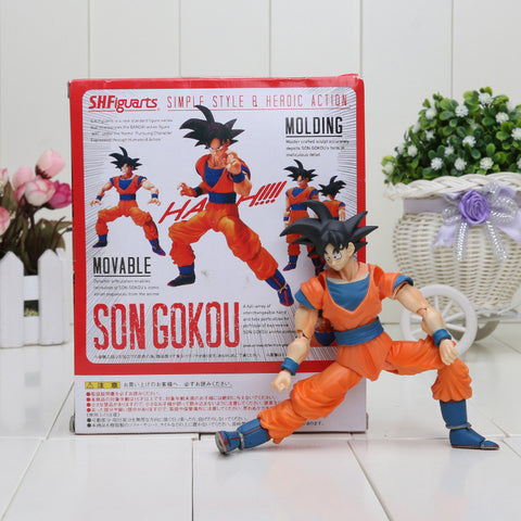 Son Goku Molding Movable Articulated Action Figure 16cm - Saiyan Stuff