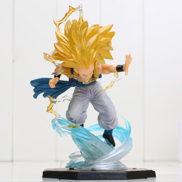 Super Saiyan 3 SSJ3 Gotenks Dragon Ball Collectible Action Figure - Saiyan Stuff - 1