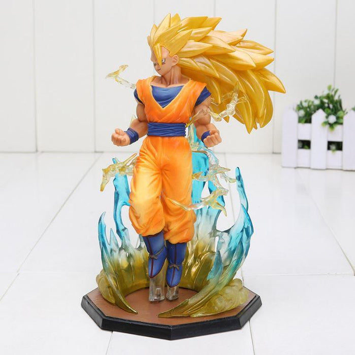 Super Saiyan 3 SSJ3 Son Goku Dragon Ball Collectible Action Figure - Saiyan Stuff - 1