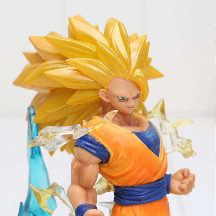 Super Saiyan 3 SSJ3 Son Goku Dragon Ball Collectible Action Figure - Saiyan Stuff - 4