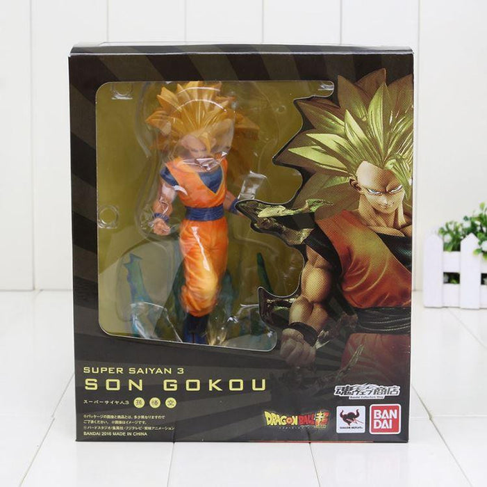 Super Saiyan 3 SSJ3 Son Goku Dragon Ball Collectible Action Figure - Saiyan Stuff