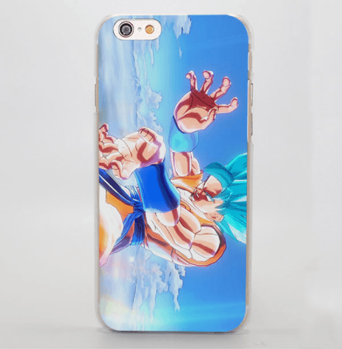Super Saiyan Blue Goku Kamehameha Attack iPhone 5 6 7 Plus Case