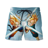 Super Saiyan Goten and Trunks Friend Kamehameha Shorts - Saiyan Stuff - 1