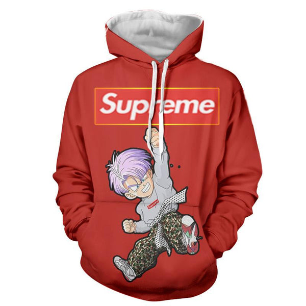 82fad86d261 Supreme Kid Trunks Jumping Red Trendy Fashion Hoodie