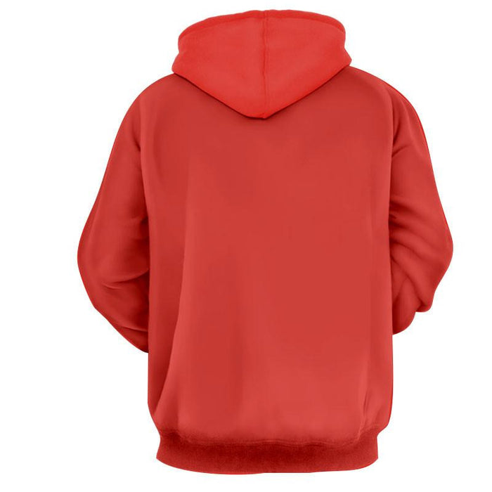 Supreme Villain Perfect Cell Red Simple Streetwear Hoodie