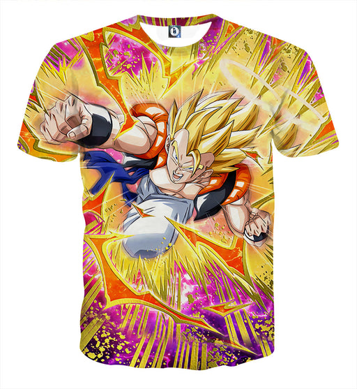 Dragon Ball Super Gogeta Outshining Darkness Cool T-shirt