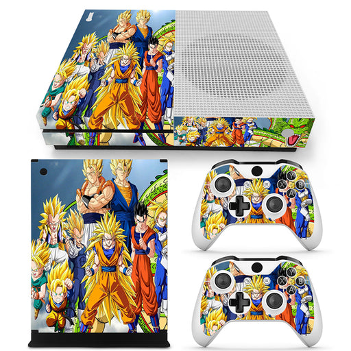 DBZ Super Saiyan Son Goku Vegeta And Family Xbox One S Skin