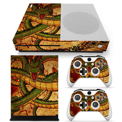 Dragon Ball Z The Legendary Shenron Design Xbox One S Skin