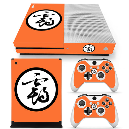 Dragon Ball Z Kanji Character Symbol Orange Xbox One S Skin