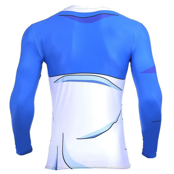 Teen Future Trunks Capsule Corp 3D Gym Fitness Long Sleeves T-Shirt