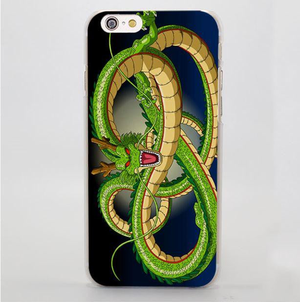 The Great Shenron Stylish Green Dragon DBZ iPhone 5 6 7 Plus Case